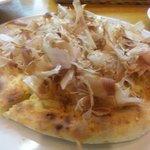 4785190 - 桜海老と鰹節のピザ