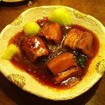 万豚や - トロトロ豚肉の角煮680円
