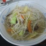 47852332 - 野菜たっぷりタンメン 大盛り(¥850)