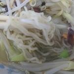 47852347 - 自家製麺です タンメンと合います