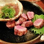 とりまさ - 料理写真:合鴨サイコロステーキ