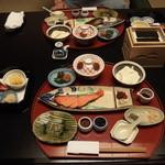強羅 花壇 - 朝食