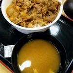 松屋 今池店 - 牛丼大盛390円