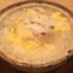 まき村 - 先ほどらいのふぐの雑炊