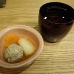 九頭龍蕎麦 はなれ - 日本酒とお通し
