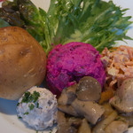 Russian Restaurant ROGOVSKI - 前菜2(シンプルセットの一品)