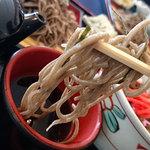 47863230 - 森夢のランチ・ヤマメ天ぷらと鹿そぼろ丼のセット880円