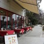 Caff'e Ponte ITALIANO - テラス席