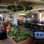 眺めのいいカフェ パ・ノ・ラ・マ - 店内の雰囲気