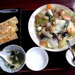 中華料理 美膳園 - 料理写真:海鮮焼きそば