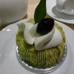 しべーる+カフェ - ただちゃ豆のモンブラン