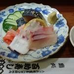 百助寿し - 料理写真:刺身の図