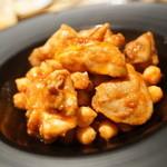未来カレー こりす - チキンと豆のチリ煮