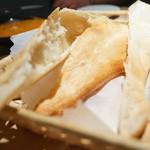 未来カレー こりす - 自家製パン