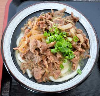 ぽんぽん - 肉うどん