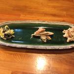 とんかつ ひやま - 160224 セットの前菜