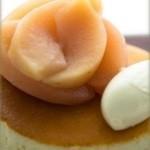 雪ノ下 - 練乳ミルクの白 りんごのコンポート