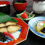 鰆西京焼定食