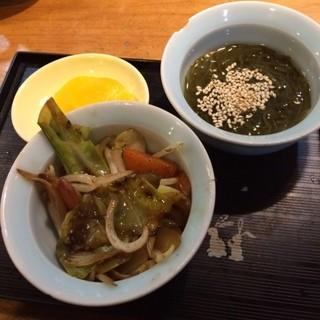 行寿司 - サービスランチの小鉢。