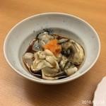 鮨 田可尾 - 地物の天然牡蠣