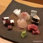 鮨 田可尾 - 刺し盛り