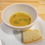 桃の実 - スープ