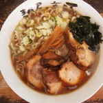 麺屋・高豚 - チャーシュー麺830円 + 特大150円