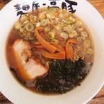 麺屋・高豚 - しょうゆとんこつ630円