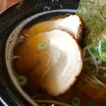 レストラン・グリーンガーデン - 大島にぼしラーメンのアップ〜(*^◯^*)❤️