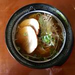 レストラン・グリーンガーデン - 大島にぼしラーメン〜(*^◯^*)❤️