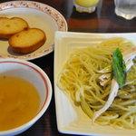 サイゴンカフェ - パスタバジル 単品780円スープ、パン付き