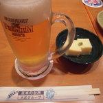 庄や  - ビール&おとうし