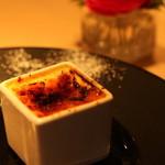 Le Petit Courageux - デザートはクレムビュルレとパンナコッタのアイスクリーム
