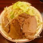 柴田商店 - とんこつ野菜(並)650円野菜増し