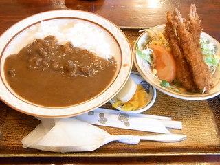 ジュン - サービス定食・海老カレー¥650(税込)