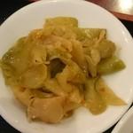 中華料理 東海飯店 - 搾菜