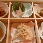 小松庵 - 蕎花弁当