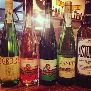 種類豊富なスペイン産ワイン&ビール
