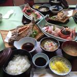 レストラン漁連 - お造り定食(松)