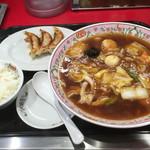 餃子の王将 - ●2016 #050 @広東麺ランチ ¥820