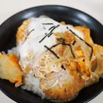 とけい台食堂 - ミニカツ丼