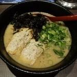 三豊麺 - 濃厚とんこつラーメン700円