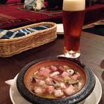 キャラヴァンサライ包 - ガーリックはビールに良く合う