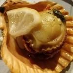 海物焼 新島水産 - ヒオウギ貝