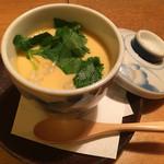 車 - 地鶏の茶碗蒸し(2015,12)