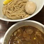 47897609 - GaGaNaホルモンつけ麺+味玉
