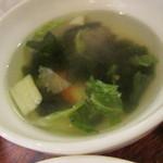 47898281 - 野菜のスープ