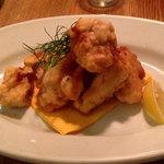 47899018 - 北海道産の鱈の白子はフリット
