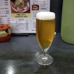 笑福屋 - 生ビール(小)