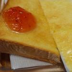 ばじりこ - トースト